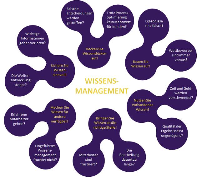 Grafik Wissensmanagement für Unternehmer